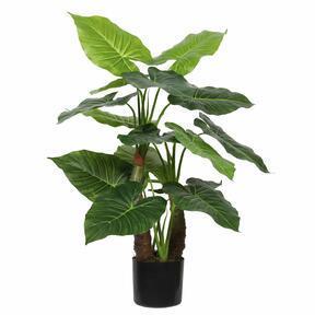 Kunstbaum Taro Araceae 80 cm
