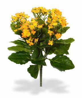 Künstliche Pflanze Kalanchoa orange 30 cm