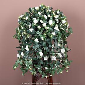 Künstliche Ranke Rose weiß 70 cm