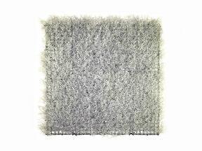 Künstliche Silbertafel Calocephalus - 50x50 cm