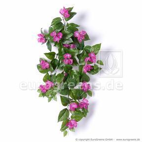 Künstlicher Tentakel Bugénvilea lila 75 cm