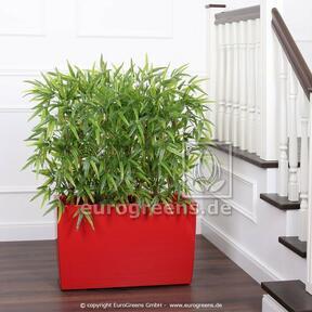 Künstlicher Zaun Bambus 120 cm