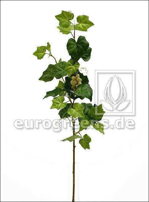Künstlicher Zweig Weinrebe mit Früchten 95 cm