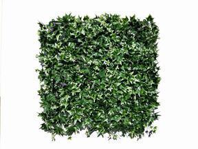 Künstliches Blattpaneel Efeu - 50x50 cm