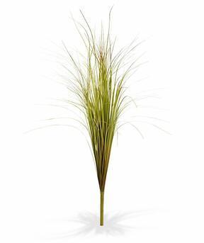 Künstliches grün-braunes Rillengrasbündel 80 cm