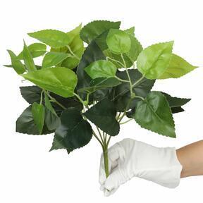 Kunstpflanze Basilikum grün 25 cm