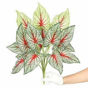 Kunstpflanze Calladium bunt 50 cm