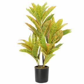 Kunstpflanze Croton-gefleckt 55 cm