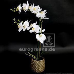 Kunstpflanze Orchidea weiß 65 cm
